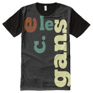 big elegans All-Over print T-Shirt
