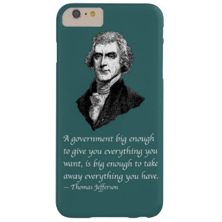 BIG ENOUGH GOVERNMENT BARELY THERE iPhone 6 PLUS CASE