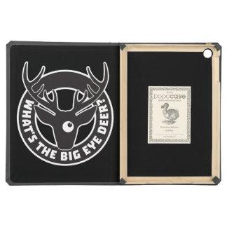 Big Eye Deer Black DODOcase iPad Air Case