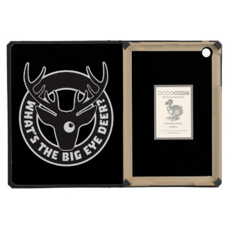 Big Eye Deer Black iPad Mini DODOcase iPad Mini Cases