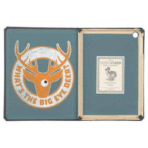 Big Eye Deer Worn Orange iPad Air Cases