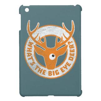Big Eye Deer Worn Orange iPad Mini Cover