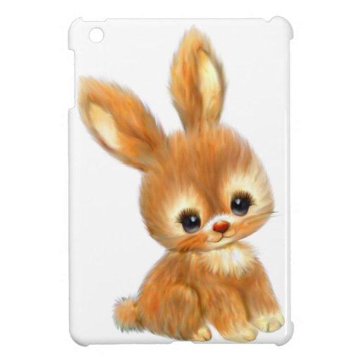 Big Eyed Bunny iPad Mini Covers