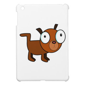 Big-Eyed Cartoon Dog Cover For The iPad Mini