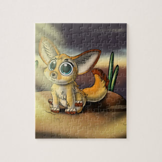 Big-Eyed Fennec Fox Cutie 8x10 Puzzle w/ Gift Box