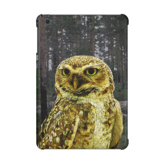 Big Eyed Owl in the Woods iPad Mini Retina Case