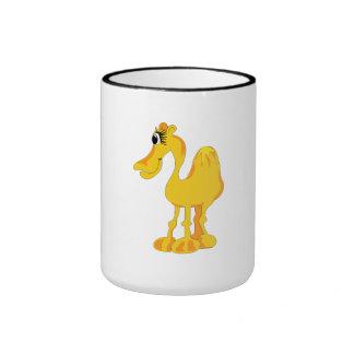 Big Eyelashes Camel Coffee Mug