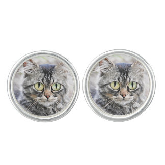 Big eyes cufflinks