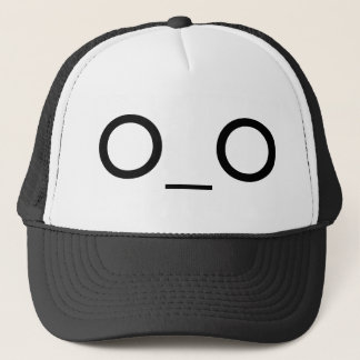 big eyes trucker hat