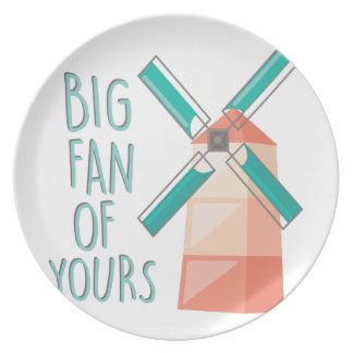 Big Fan Party Plate