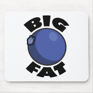 Big Fat Blueberry Media Schwag Mouse Pad
