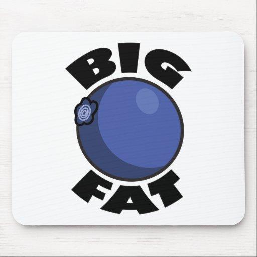 Big Fat Blueberry Media Schwag Mousepads