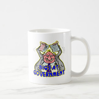 Big Fat Federal Government Ripping Up Constitution Coffee Mug