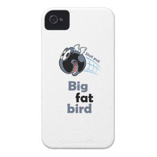 Big fat shot put bird iPhone 4 case