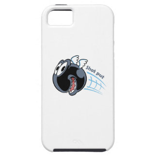 big fat shot put bird iPhone 5 case
