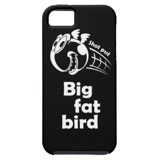 Big fat shot put bird iPhone 5 covers