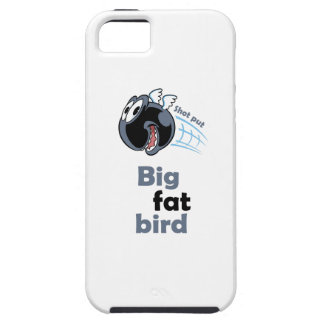 Big fat shot put bird tough iPhone 5 case