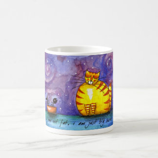 Big Fat Yellow Cat - Mug