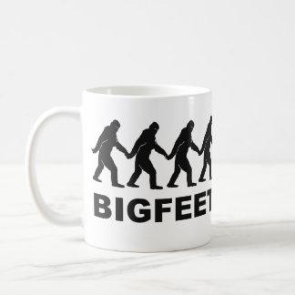 Big Feet Bigfoot Basic White Mug