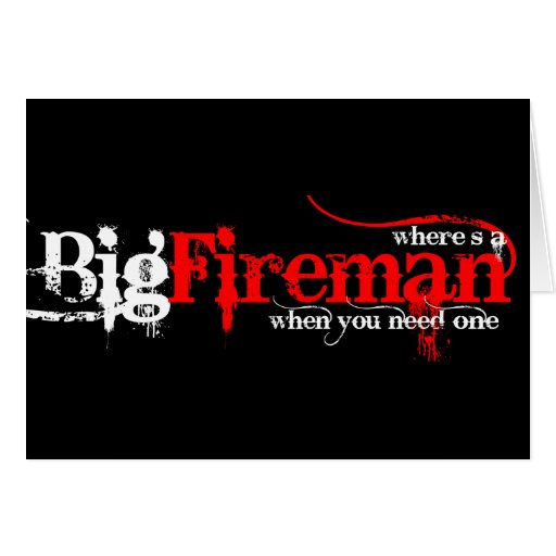Big Fireman Cards