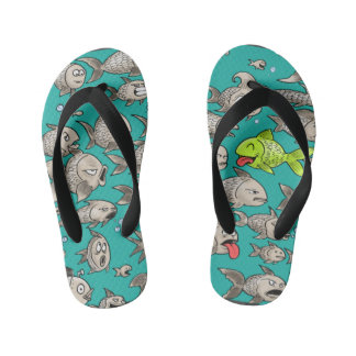 Big Fish Flip Flops Thongs