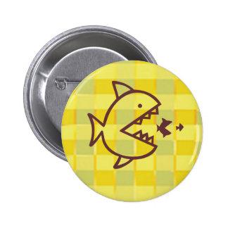 Big Fish Small Fish -  Cut Throat Competition 6 Cm Round Badge