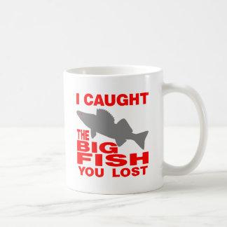 BIG FISH WALLEYE COFFEE MUG