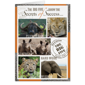 Big Five Success Card