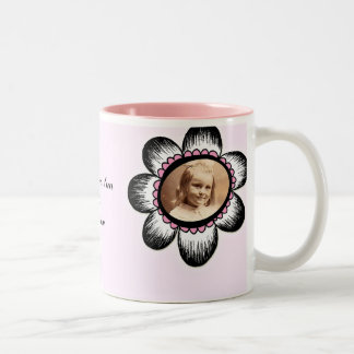 Big Flower Photo Frame Mugs