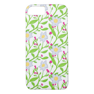 Big flowers and berries iPhone 8/7 case