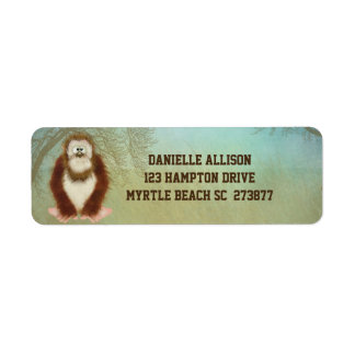 Big Food /Squatch Return Address Label
