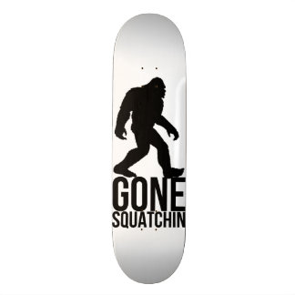 Big foot gone squatchin 20 cm skateboard deck
