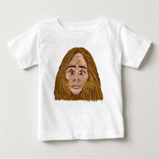 Big Foot Sketch Baby T-Shirt