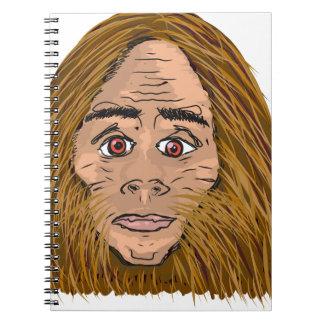 Big Foot Sketch Spiral Notebook