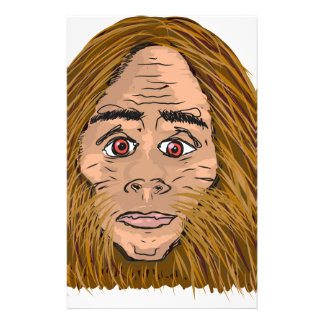Big Foot Sketch Stationery