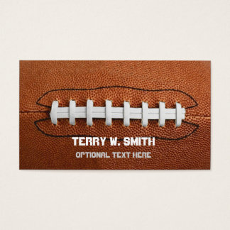 Big Football Business Cards