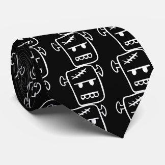 Big Frankenstein Graphic Tie