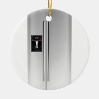 Big fridge ceramic ornament