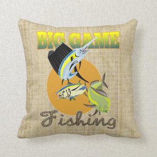 Big Game Fish Throw Pillow