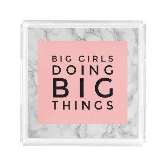 Big Girl Doing Big Things Tray