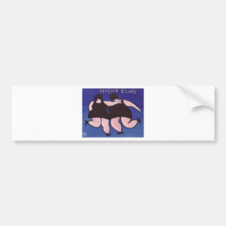 BIG GIRLS NIGHT OUT CAR BUMPER STICKER