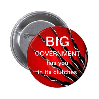 Big Government 6 Cm Round Badge