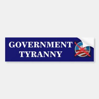 Big Government killed the US Constitution! Car Bumper Sticker