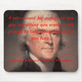 Big Government Mousepad
