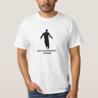 BIG GOVERNMENT ZOMBIE T SHIRTS