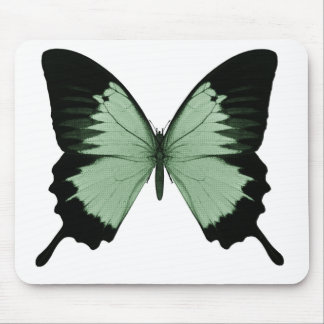 Big Green & Black Butterfly Mousepad