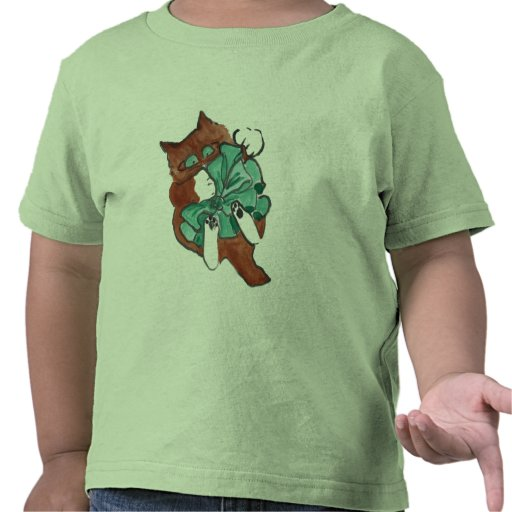 Big Green Bow is Larger than Kitten Tshirts