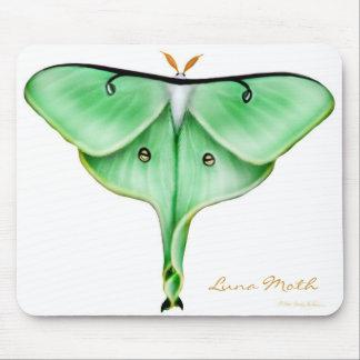 Big Green Luna Moth Mousepad