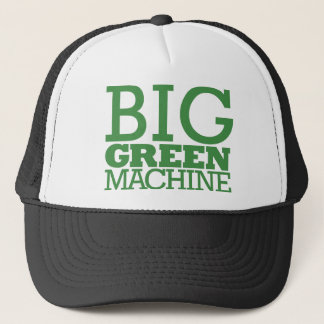 Big Green Machine - Green Trucker Hat