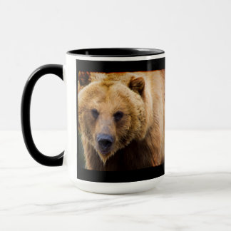 Big Grizzly Bear Close Enough Mug